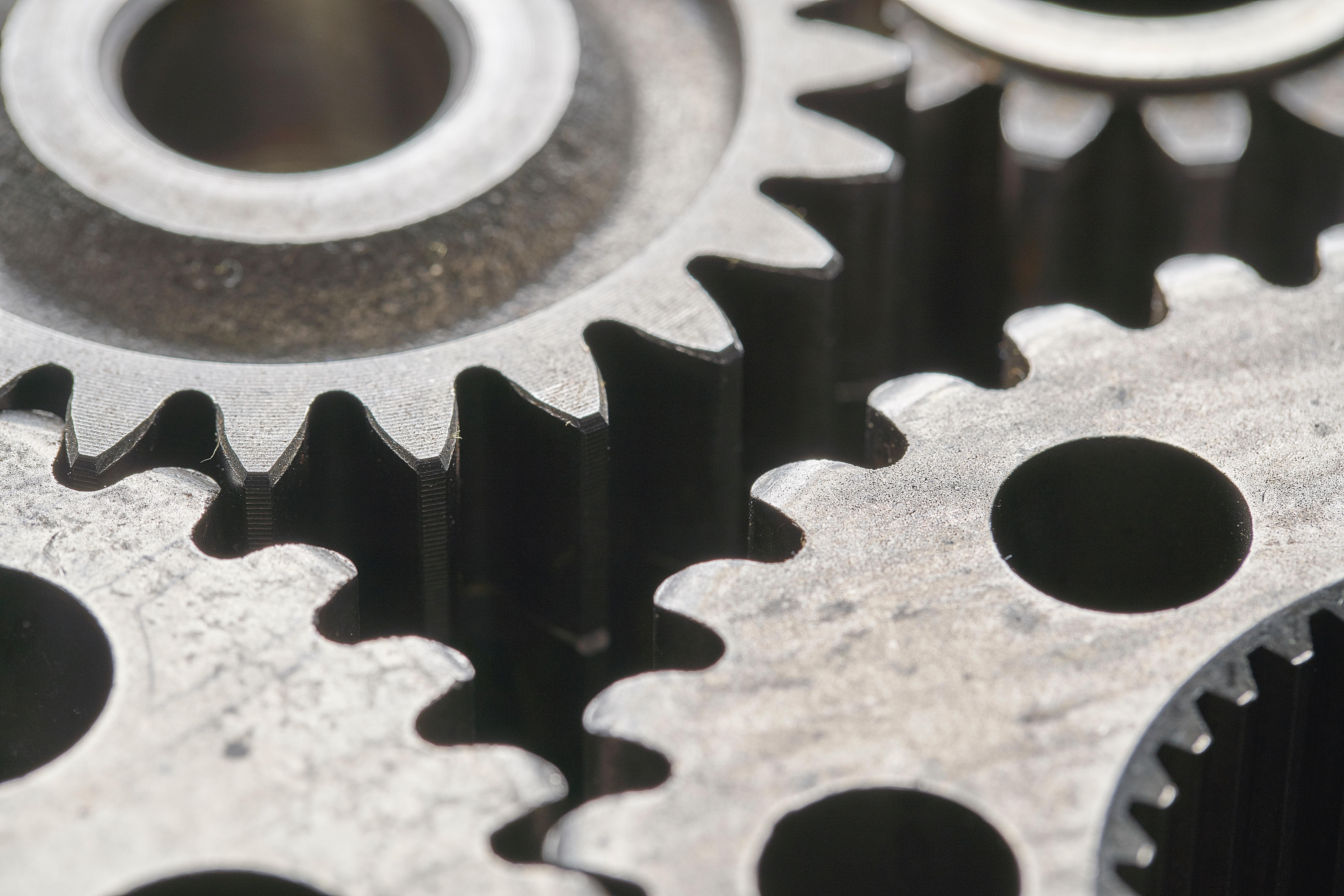 industrial metal gears