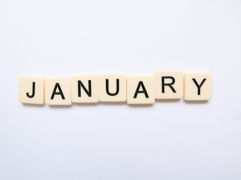 January scrabble words