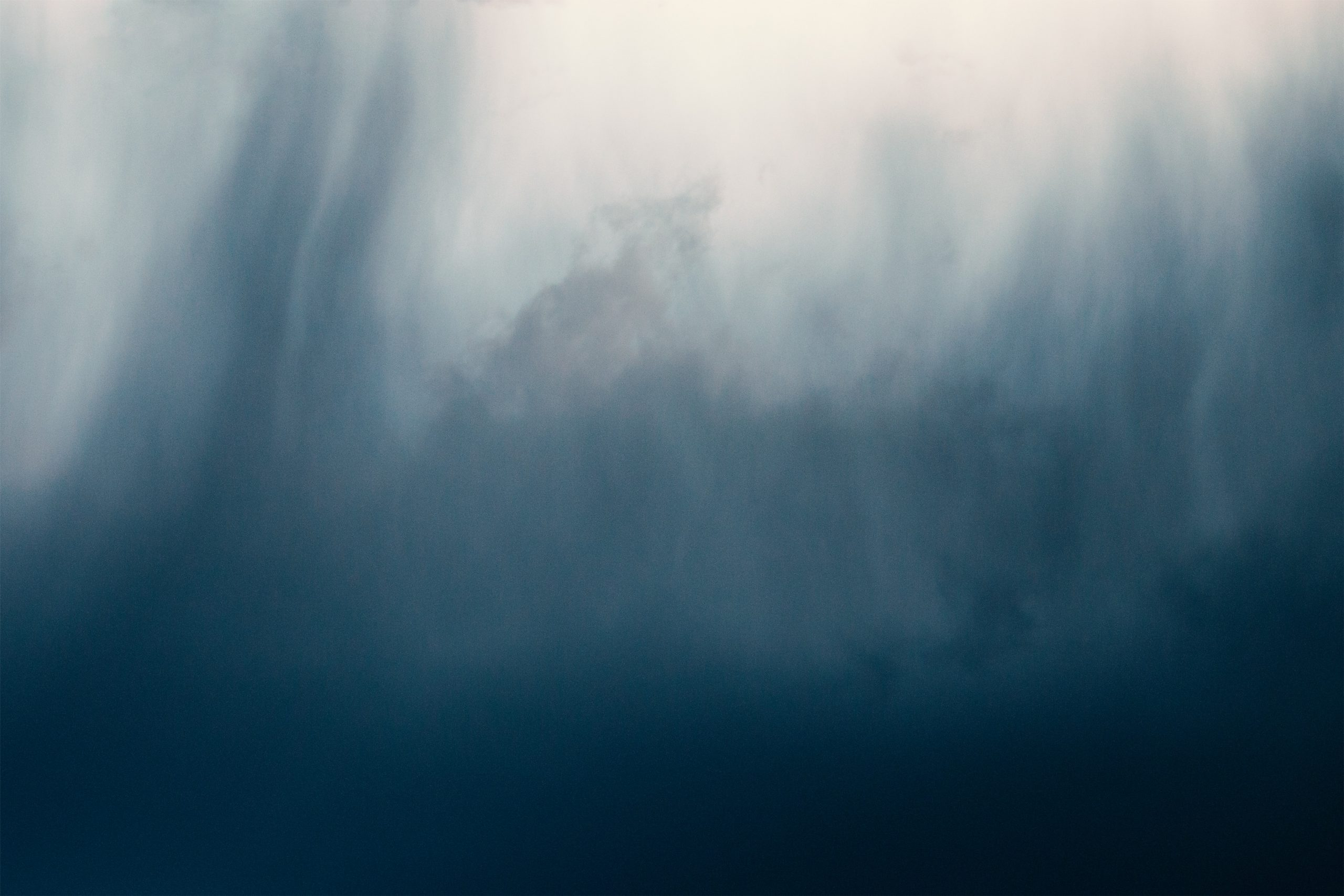 abstract shot of dark clouds
