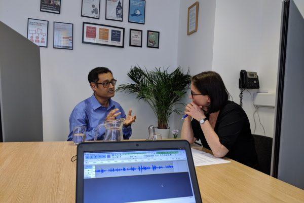 Girish Menon podcast